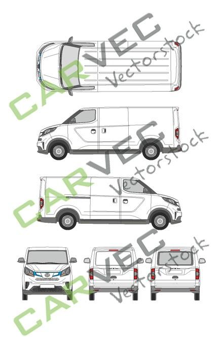 Maxus EV30 (e-deliver 3) (L2) Heckklappe