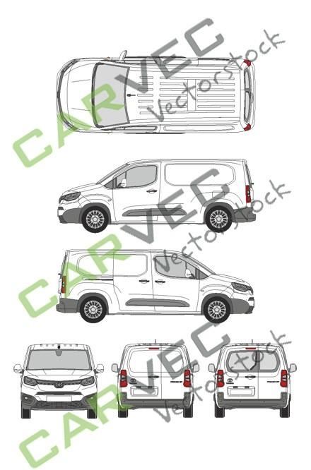 Toyota Proace City L2 (2020) (Hecktür)