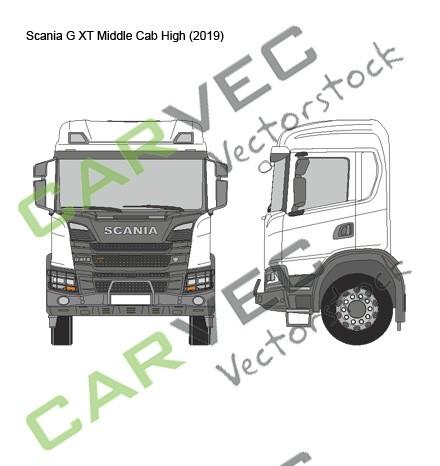Scania G XT Middle Cab High (2019)