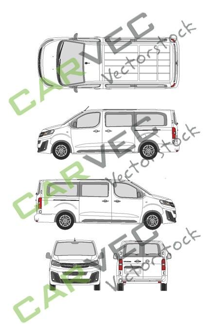 Opel Vivaro Cargo L (2019) Hecktuer Innovation verglast