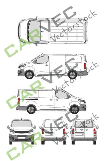 Opel Vivaro Cargo L (2019) Hecktuer Selection+Edition Kasten