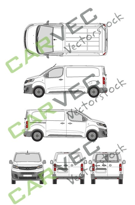 Opel Vivaro Cargo M (2019) Hecktuer Selection+Edition Kasten