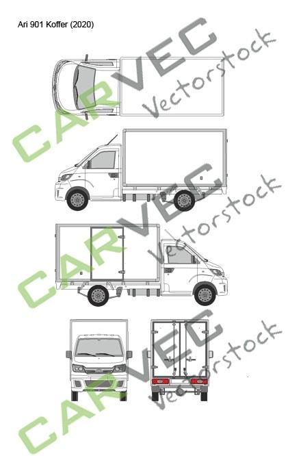 Ari Motors 901 (2020) Koffer