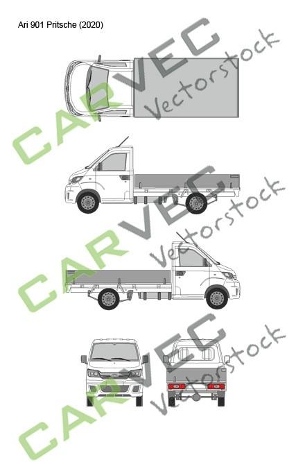 Ari Motors 901 (2020) Pritsche