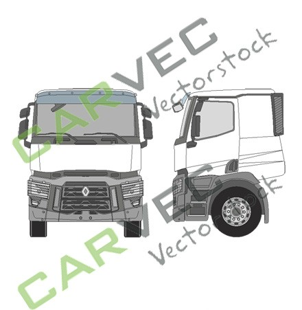 Renault C-Night+DayCab 2500 mm
