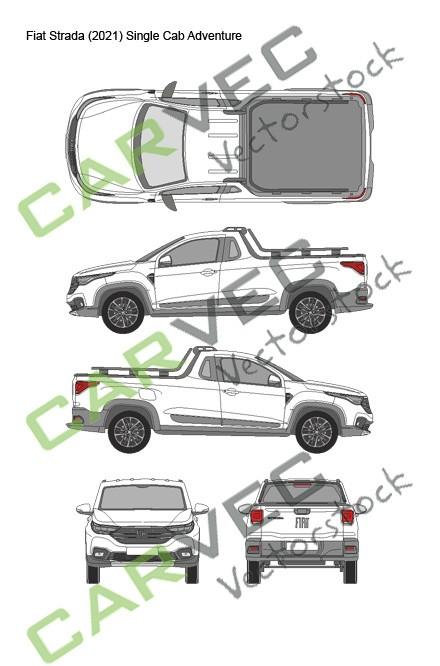 Fiat Strada (2021) Single Cab Adventure