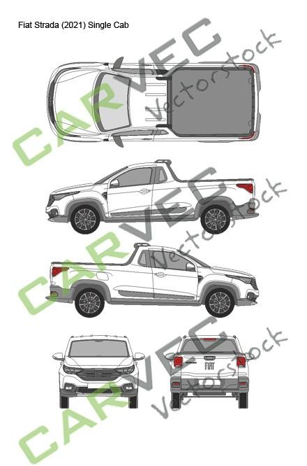 Fiat Strada (2021) Single Cab
