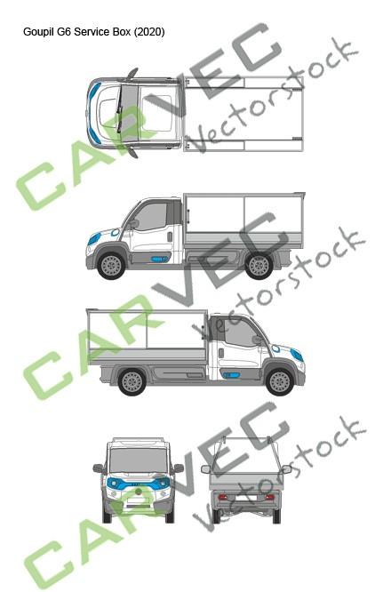 Goupil G6 (2020) Service-Box