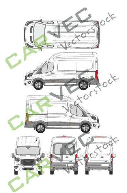 Ford Transit L2H3 Kasten (2019)