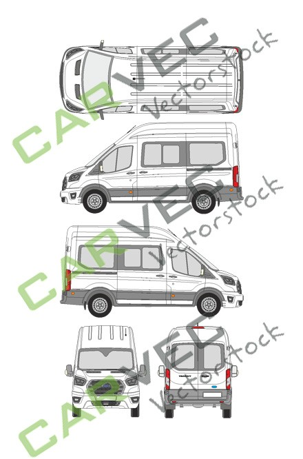 Ford Transit L2H3 Kombi (2019)