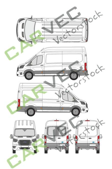 Ford Transit L3H3 Kasten (2019)