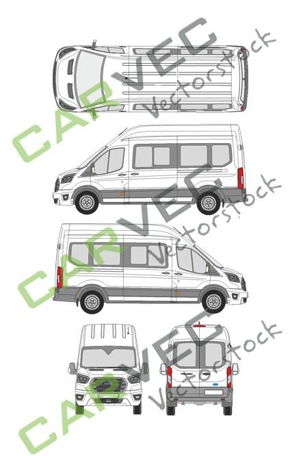 Ford Transit L3H3 Kombi (2019)