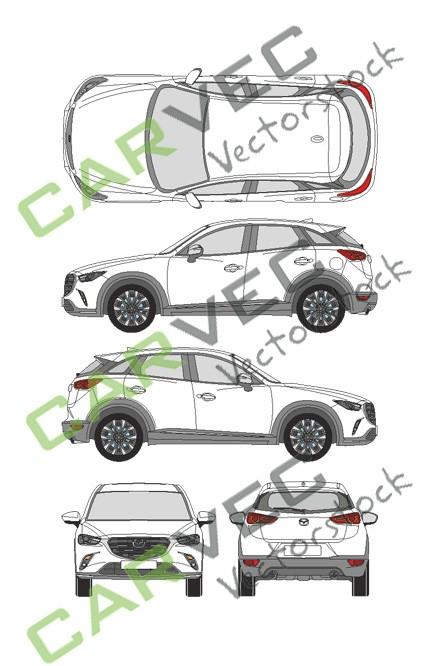 Mazda CX3 (2019)