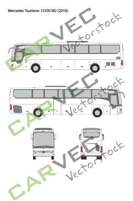 Mercedes Tourismo 13100 M2 (2018)