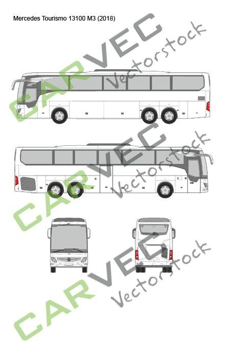 Mercedes Tourismo 13100 M3 (2018)
