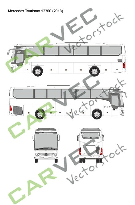 Mercedes Tourismo 12300 (2018)