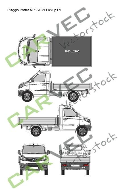 Piaggio Porter NP6 L1 (2021) Pickup