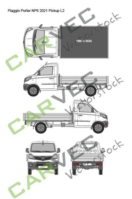 Piaggio Porter NP6 L2 (2021) Pickup
