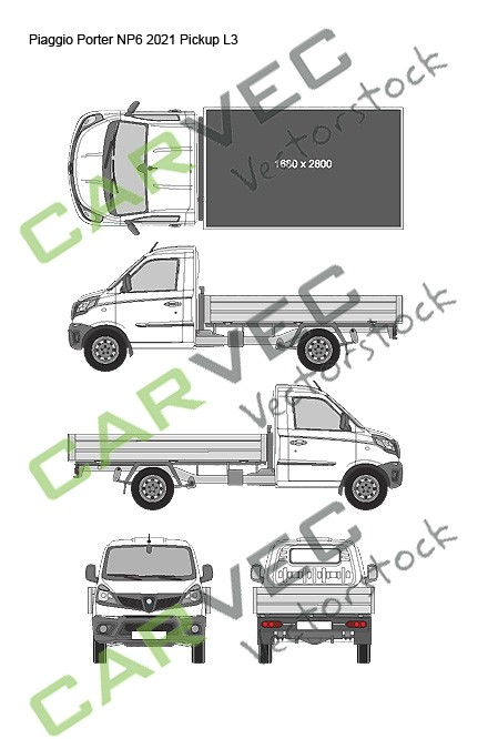 Piaggio Porter NP6 L3 (2021) Pickup
