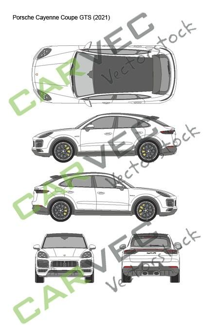 Porsche Cayenne Coupe GTS (2021)