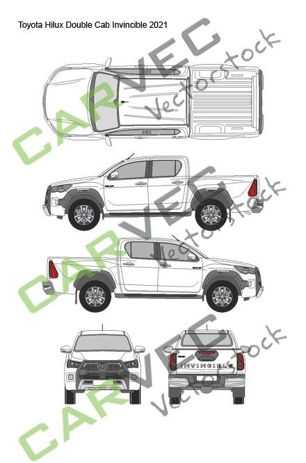 Toyota Hilux Double Cab Invincible (2021)