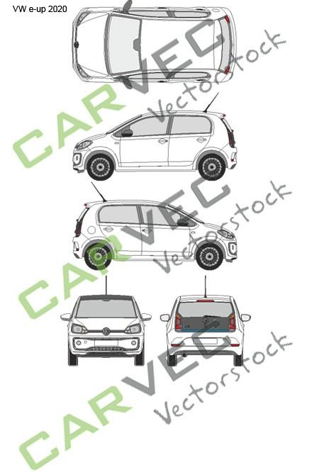 VW e-up (2020)